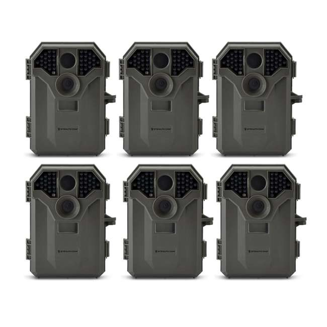 6 x STC-P36NG Stealth Cam P36NG 8MP No Glo Invisible Infrared Game Camera (6 Pack)