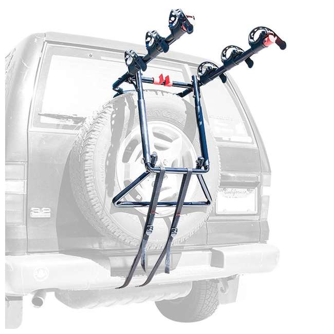S-303-U-C Allen Sports Over the Spare Tire Premier Bike Rack with Folding Arms (For Parts) 1