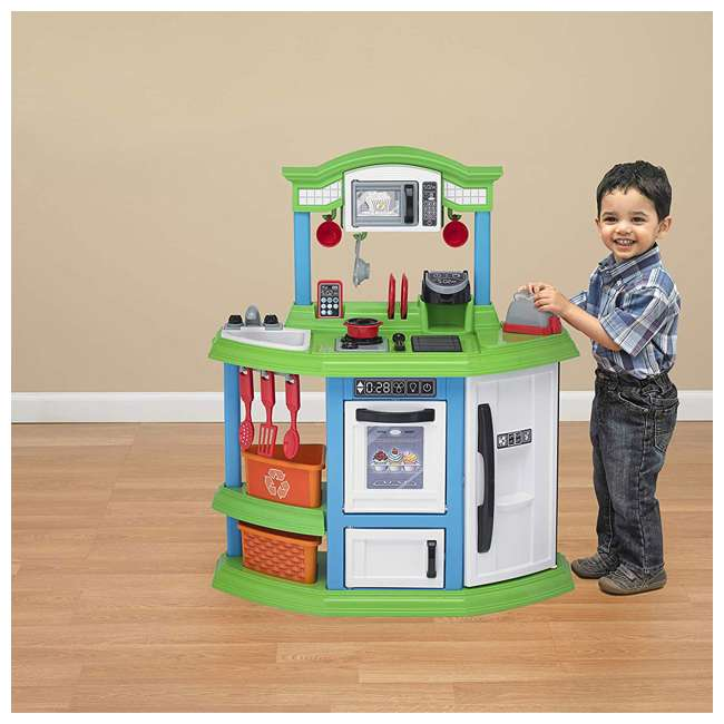 APT-11810 American Plastic Toys Kids Very Own Cozy Comfort Kitchen Role Play Toy Set  1