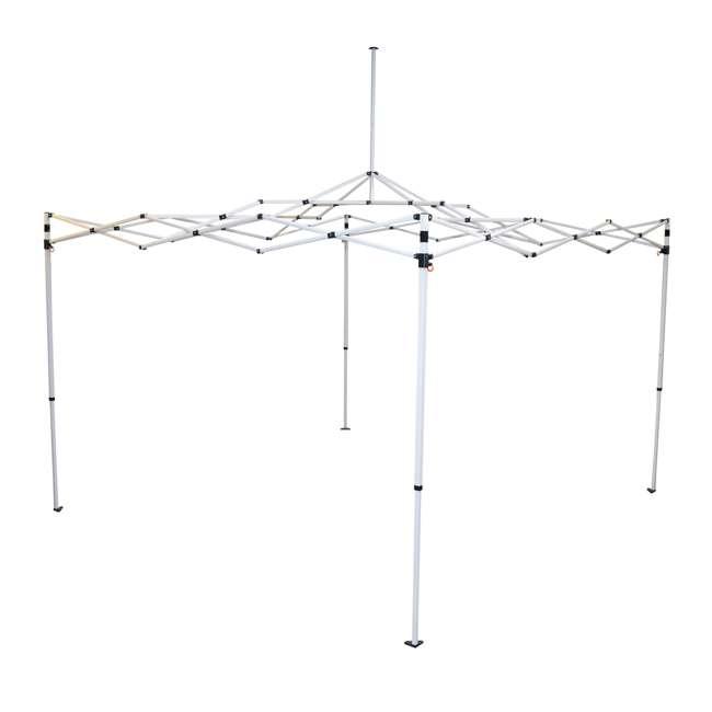 CVAN21008100010 Caravan Canopy M-Series Pro 2 10 x 10 Straight Leg Canopy, White 3