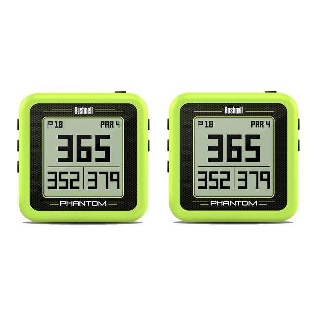 BGOLF-368824 Bushenell Golf Golf Ball GPS, Phantom Green (2 Pack)