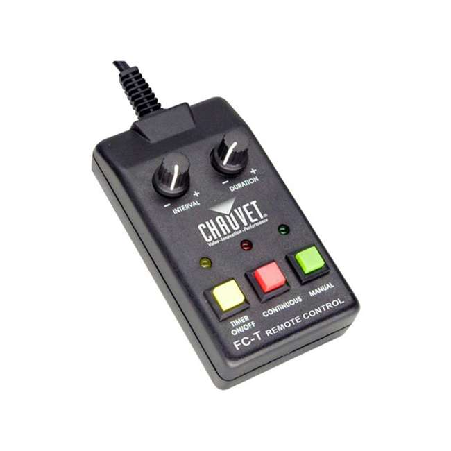H1800FLEX + 2 x HDF Chauvet Fog Pro Machine w/ Timer Remote & 2 Gallons Fog 4