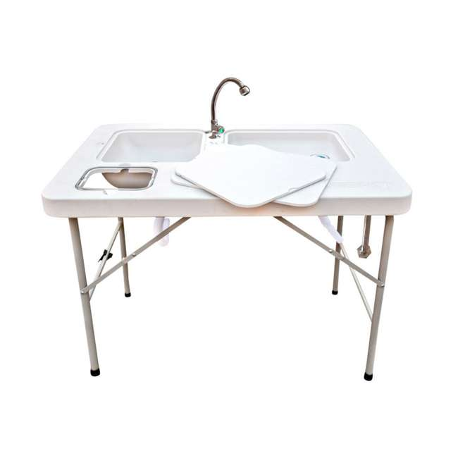 CCC-322 Coldcreek Outfitters Outdoor Washing Table and Sink for Camping, Fishing