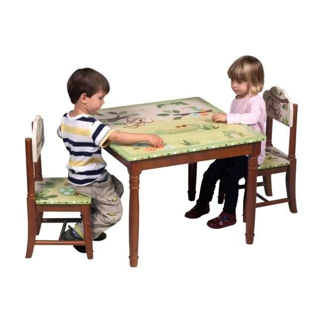 G85402 Guidecraft Papagayo Table & Chairs Set 1