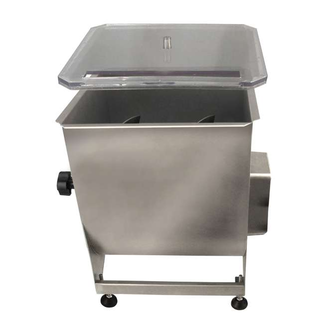 36-2001-W Weston Stainless Steel 44-Pound Capacity Meat Mixer 1