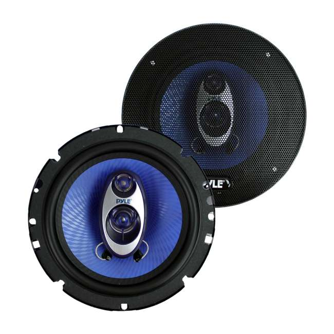 8 x PL63BL Pyle PL63BL 6.5-Inch 360W Three-Way Speakers (16 Pack) 1