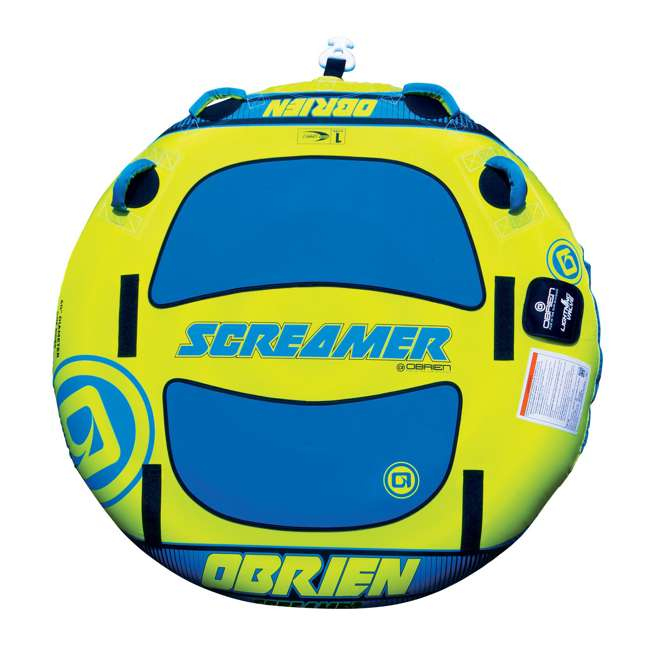 2191504-MW O'Brien Watersports Screamer 60 Inch Towable Tube with Quick Connect System
