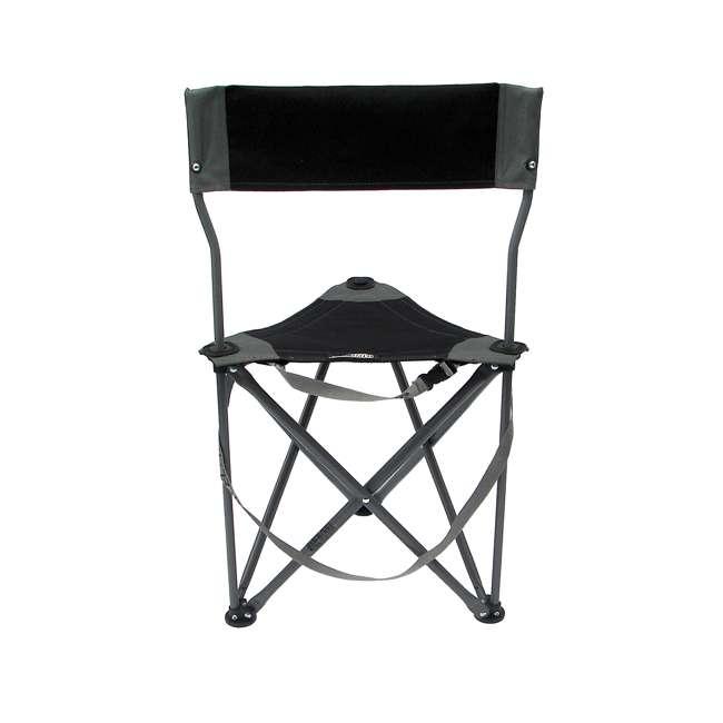 1489V2BK TravelChair Ultimate Slacker 2.0 Portable Outdoor Folding Stool Seat, Black 2
