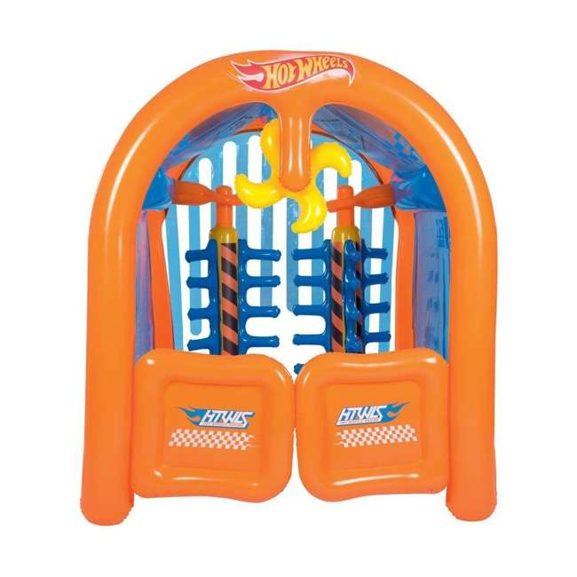 93406E-BW Bestway Inflatable Hot Wheels Car Wash Play Center 1