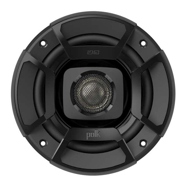 "DB652 Polk Audio 6.5"" 300W 2 Way Car/Marine ATV Stereo Coaxial Speakers (Pair) 4"