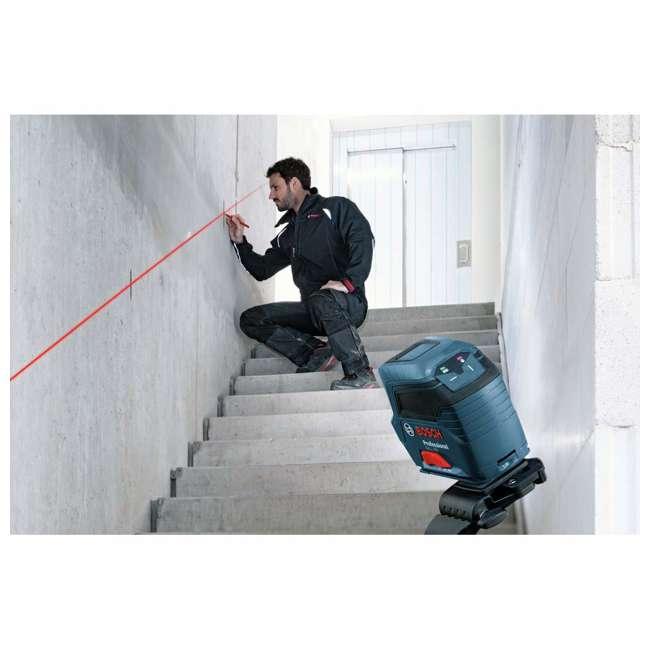 GLL 50-RT-RB Bosch GLL 50 Self Leveling Cross Line Laser Level Kit (Certified Refurbished) 5
