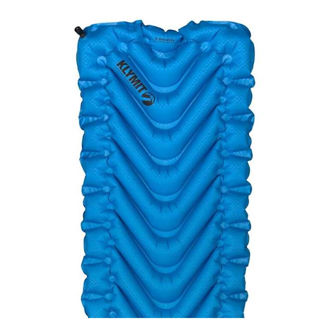 06SUBL01C Klymit Static V Ultralite SL Inflatable Sleeping Pad, Blue 3