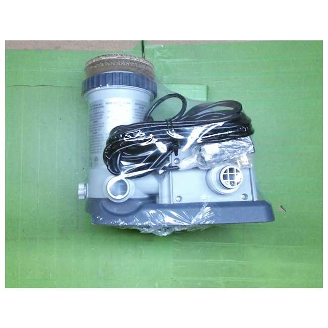 635T Intex 1500 Gph Krystal Clear Cartridge Filter Pump 110-120V w/ GFCI (Pump Only) 6