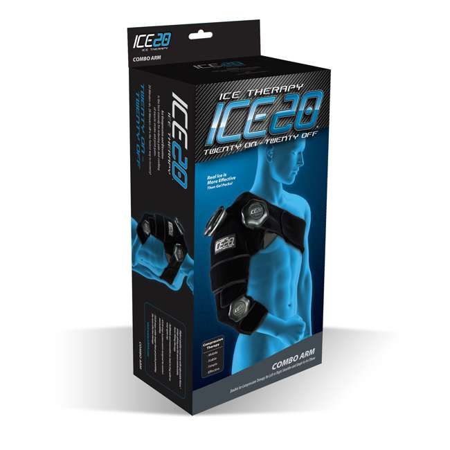 ICE-Combo Arm Bownet ICE20 Combo Ice Compression Wrap Ice-Combo Arm for Sports Arm Injuries 4