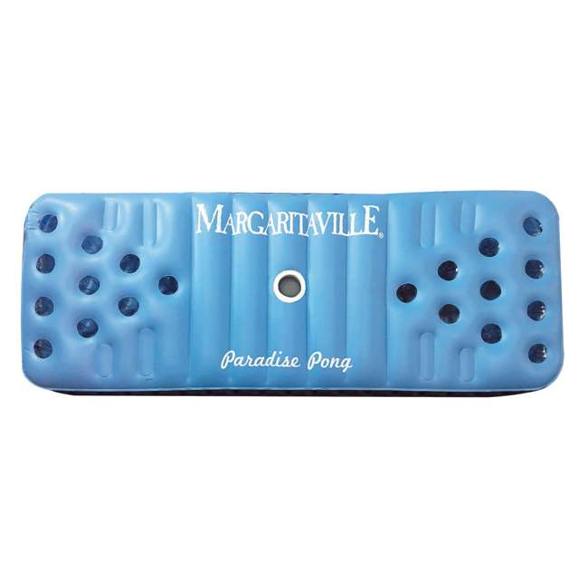 2183222-MW Margaritaville Inflatable Floating Paradise Pong Pool Float (2 Pack) 1