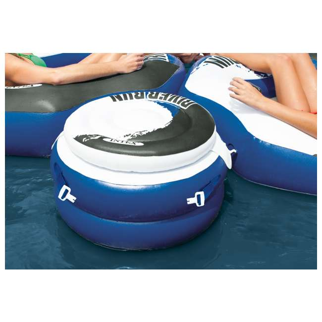 58854EP + 2 x 56823EP Intex River Run Connect Lounge Inflatable Tube with River Run Connect Cooler  (2 Pack) 10