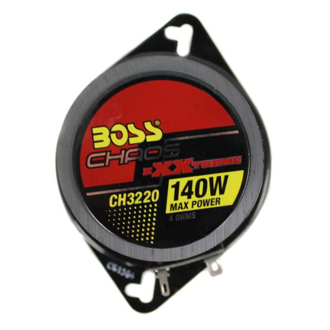 """CH3220 + CH4330 BOSS 3.5"""" 2-Way Set + 4""""x10"""" 3-Way Chaos Exxtreme Car Speakers 4"""