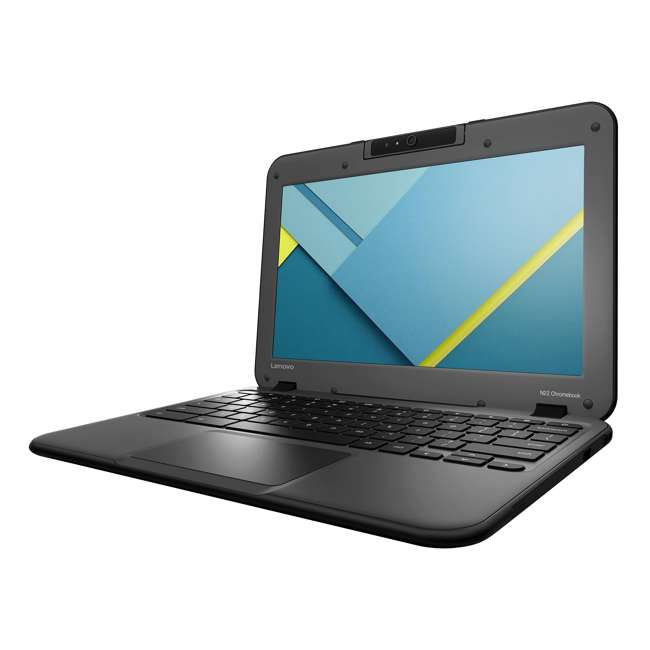 80SF0001US-C-SKIN Lenovo ChromeBook N22 4GB RAM, 16GB SSD 11.6 Inch Laptop (Certified Refurbished)