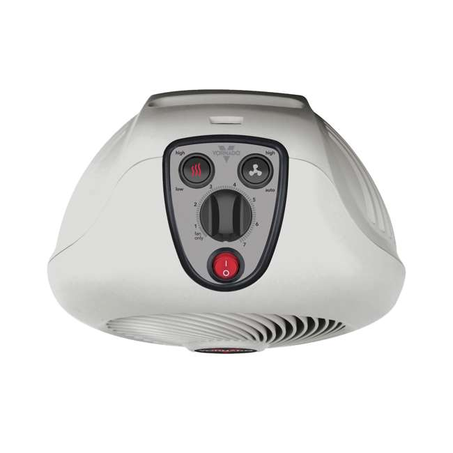 VH2-U-B Vornado VH2 1500 Watt Whole Room Electric Portable Space Heater, White (Used) 1