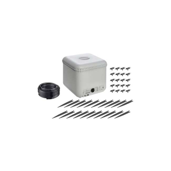 CLBR-8053 Claber 8053 Oasis 4-Program 20-Plant Garden Automatic Drip Watering System