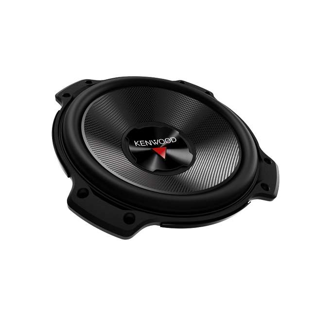 DODGEKENWOODPACKAGE Kenwood 12-Inch 2000W Subs with Dodge Ram Quad Cab '02- Box with Amplifier with Wiring (Pair) 8