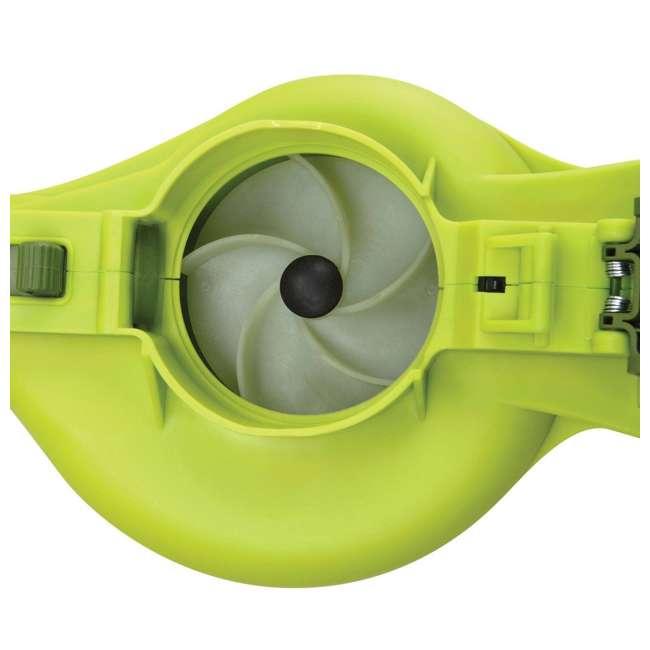 SUJ-IONBV-CT-RB Sun Joe Blower Vacuum Mulcher Gutter Cleaner, Green (Certified Refurbished) 3