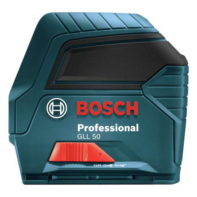 GLL 50-RT-RB Bosch GLL 50 Self Leveling Cross Line Laser Level Kit (Certified Refurbished) 6