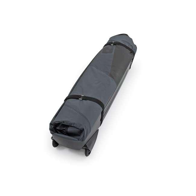 96900 B&W International Padded Lightweight Zippered Bike Bag and Case II, Black 2