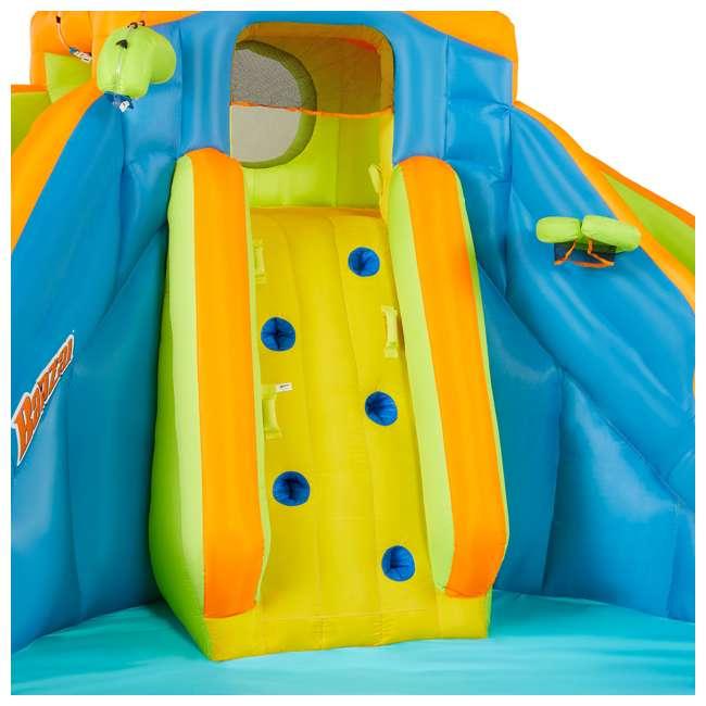BAN-90369 Banzai 90369 Adventure Club Water Park Inflatable 2 Lane Water Slide Splash Pool 4