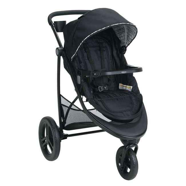 2048703 Graco Modes 3 Essentials LX Folding Baby Stroller, Teigen