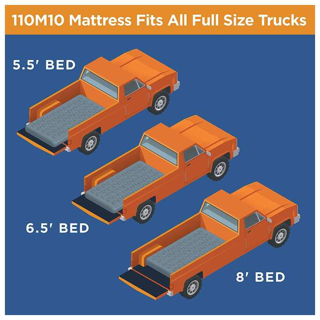 110M10 Rightline Gear Truck Bed Air Mattress for Tent, Full Size 5