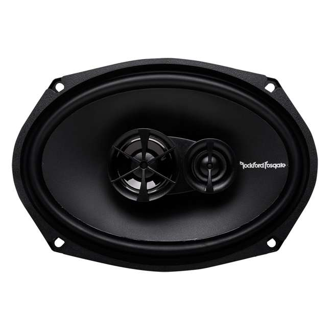 R169X3 + TW6X9 2) Rockford Fosgate R169X3 6x9-Inch 130W Speakers + 2) Angled 6x9-Inch Speaker Box (Package) 2