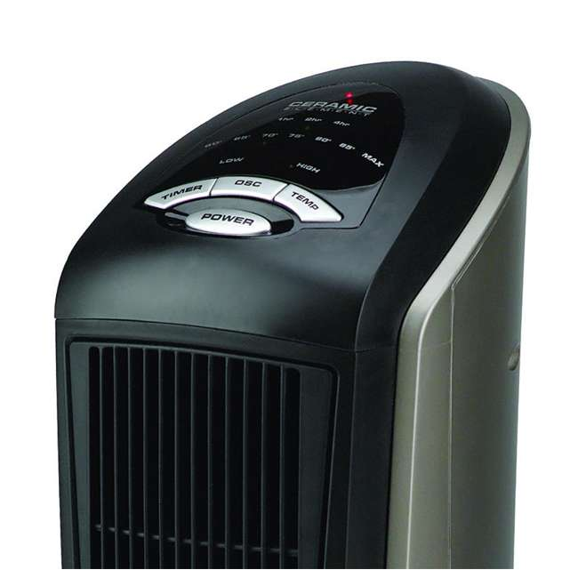 LKO-751320-TN-U-B Lasko 1500 Watt 2 Speed Ceramic Oscillating Tower Heater with Remote (Used) 2
