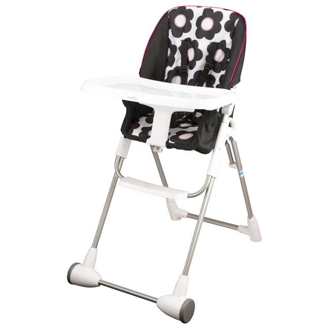 EVEN-25311234 Evenflo Symmetry Foldable Baby Toddler High Chair, Marianna