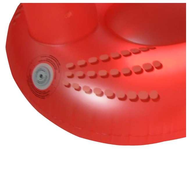 3 x SL-90704 Swimline 75-Inch Giant Inflatable LED Light-Up Flamingo Pool Float (3 Pack) 5