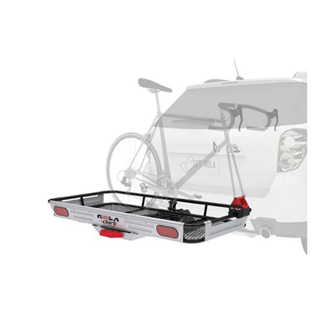 ROLA-59550-U-C ROLA Rear Mounting Basket Style Cargo Carrier for 450 lbs, Black (For Parts) 5