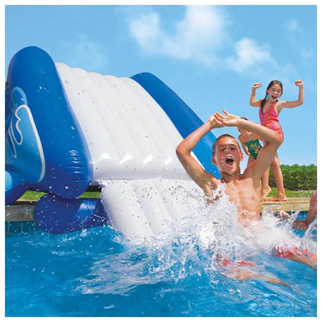 3 x 58849EP-U-A Intex Kool Splash Inflatable Play Center Pool Water Slide (Open Box) (3 Pack) 2