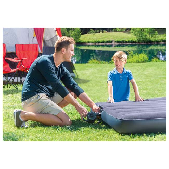 66641E + 66803EP Intex 120-Volt Quick-Fill Cordless Electric Air PumpIntex Cozy Kidz Inflatable Air Mattress w/ Carry Bag 4