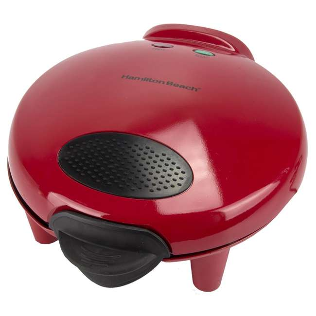 4 x 25409 Hamilton Beach Quesadilla Maker, Red (4 Pack) 2