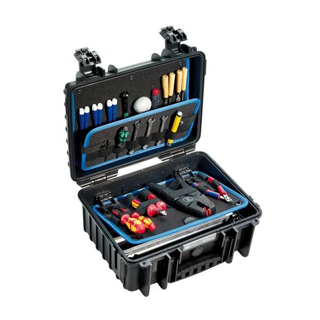 117.16/L B&W International 117.16/L Jet 3000 Plastic Portable Tool Box Case w/ Organizer 1