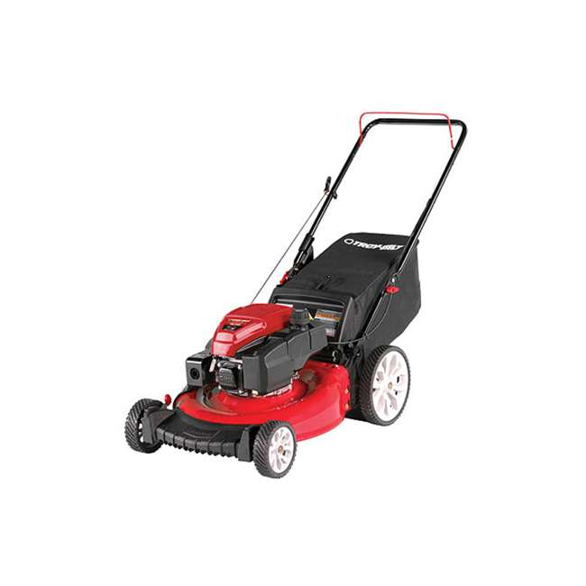TB-11A-B2MR766 Troy Bilt TB130 21 Inch 159cc Gas Mulching Push Walk Behind Lawn Mower, Red