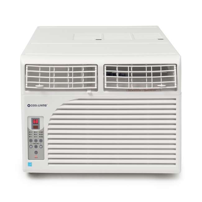 CL-RAC08EWES-U-A Cool Living 8,000 BTU Window Mount Air Conditioner (Open Box)