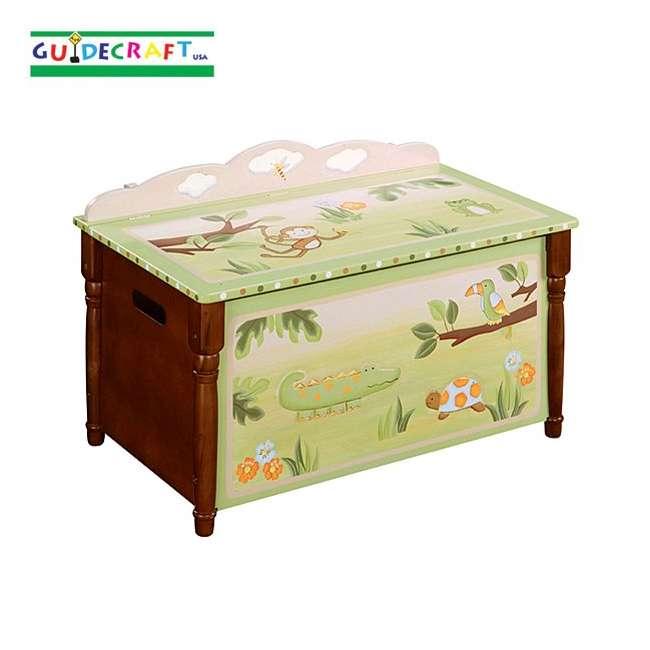G85404 Guidecraft Papagayo Toy Box