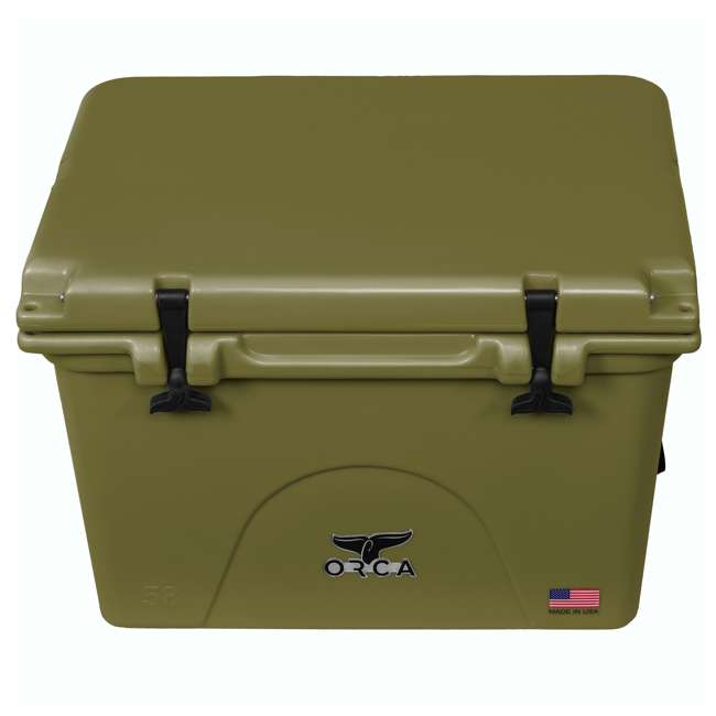 ORCG058 ORCA 58-Quart 72 Can Heavy-Duty Insulated Cooler, Seafoam Green 1
