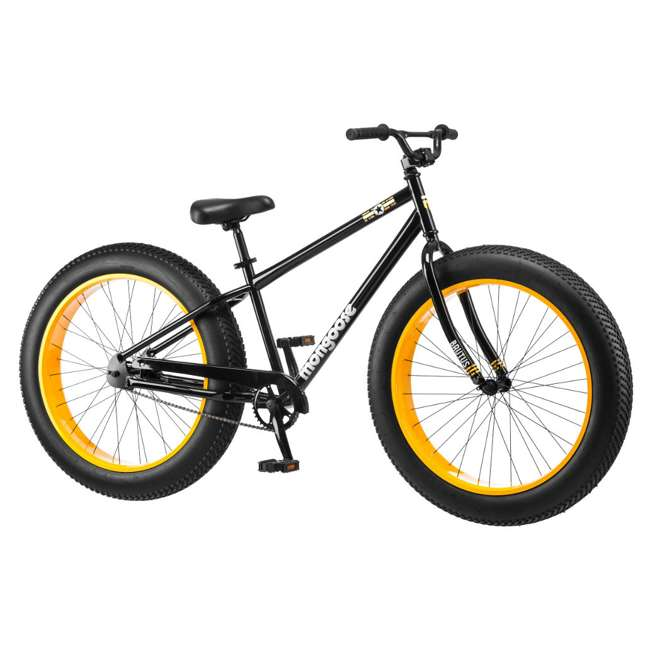"R4140 + 102DN-R Mongoose 26"" Brutus Mens Alloy All Terrain Mountain Bike & 2 Bike Car Trunk Rack 1"