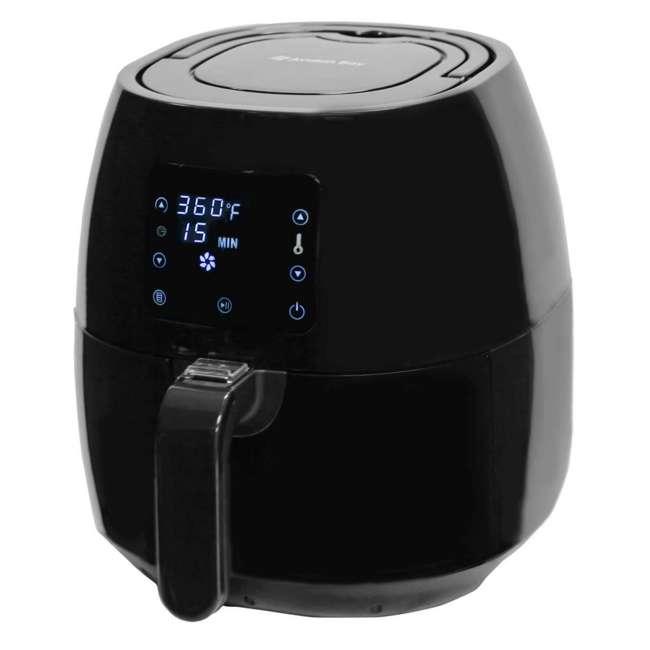 AB-AIRFRYER230B Avalon Bay Air Fryer Digital Display Stainless Steel Healthy Kitchen Appliance 5