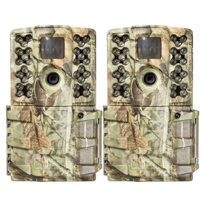 MCG-GM30i Moultrie Gen 2 14 MP Infrared Digital Game Trail Hunting Camera (2 Pack)