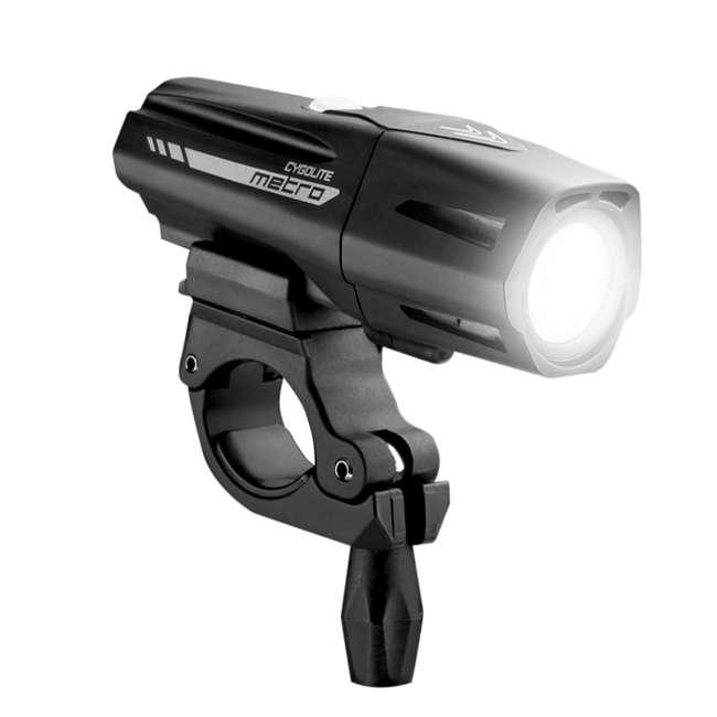 MTR-650-USB Cygolite Metro Plus 650 Lumen USB Rechargeable Bike Bicycle Headlight Light