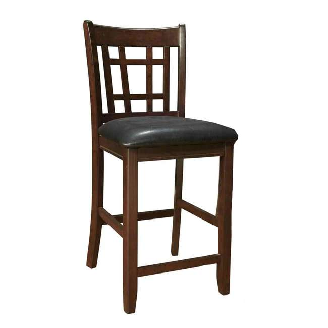 3 x 102889ii-PAIR Coaster Home Furnishings Lavon Hardwood Bar Stool, Black and Espresso (6 Pack) 2