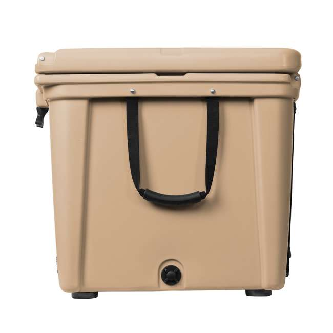 ORCT140 Orca ORCT140 140 Quart 35 Gallon Roto Molded Insulated Outdoor Ice Cooler, Tan 2